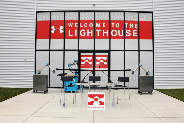 The Lighthouse—Under Armour's innovation Lab in Baltimore, Maryland