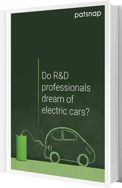 Help your R&D team understand the electric vehicle industry better through IP data