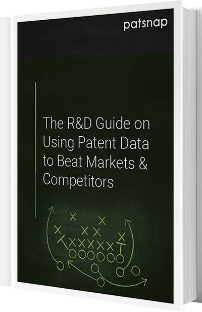 The R&D guide on using patent data
