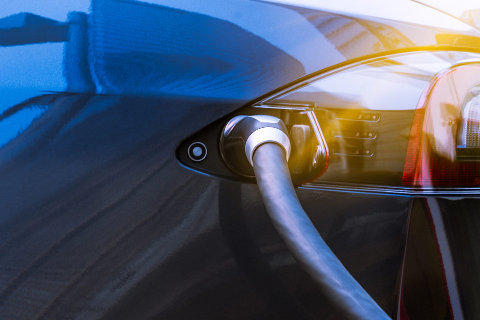 Electric car recharging batteries