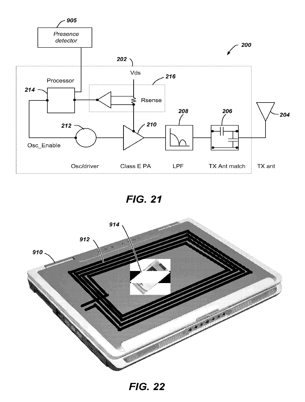 Qualcomm's wireless battery charging patent