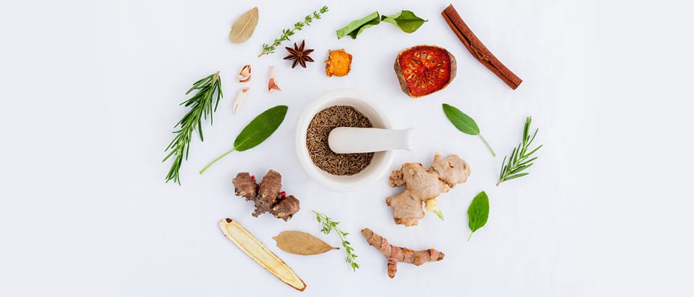 An image of herbs and spices