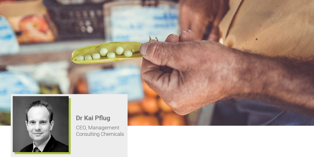 A banner image of Kai Pflug from Consulting Chemicals