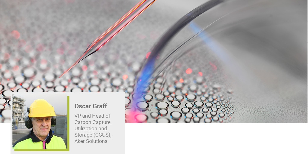 An image of Oscar Graff from Aker solutions