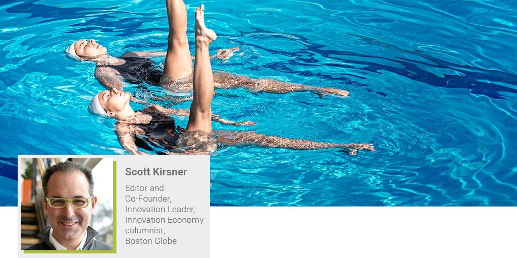 A banner image of Scott Kirsner from Innovation Leader