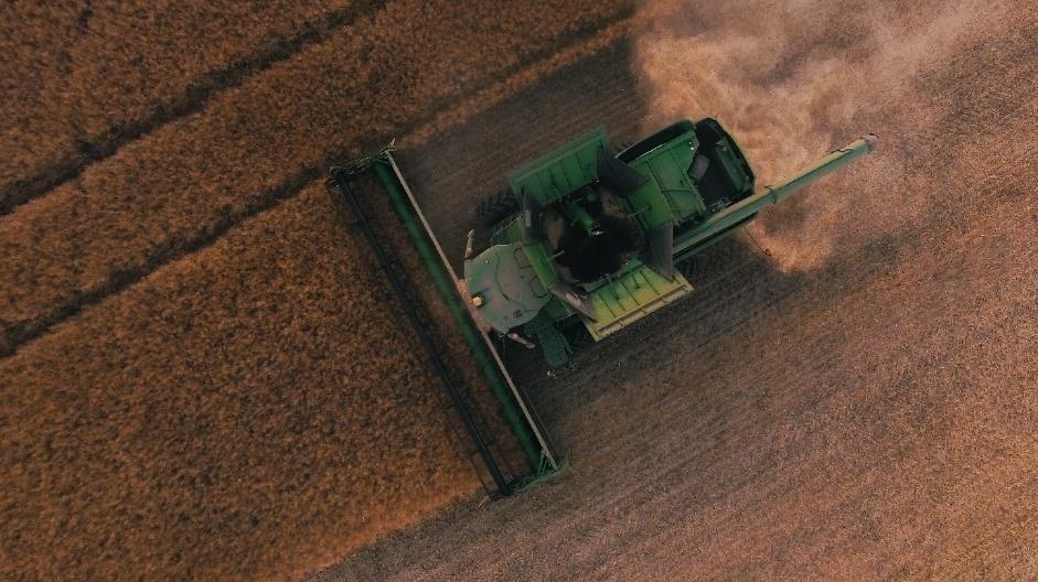 Harvesting crops IoT